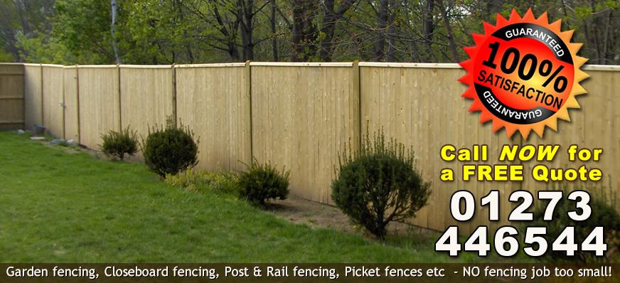 Garden Fencing Brighton
