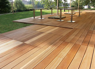 Timber Decking by Smart Fencing Sussex